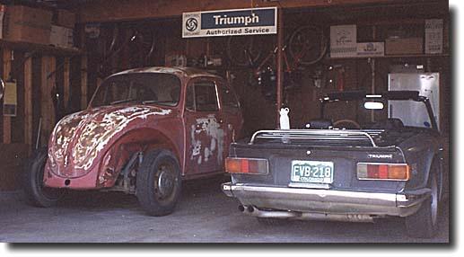 Bug & TR-6
